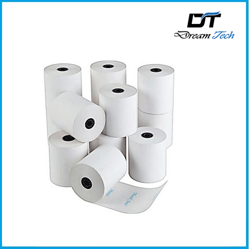 Thermal Paper Rolls 1. Made of 100% wood pulp, topping quality 2. Including two kinds of thermal paper, thermal fax paper for facsimile and thermal Receipt paper for cash register and ATM 3. Image stability time of thermal fax paper are 3 years while thermal receipt paper Are 2 years We can deliver to our customers small finished rolls, the regular Grades include: 1)55, 58 GSM thermal fax paper 2) 55, 58 GSM thermal receipt paper